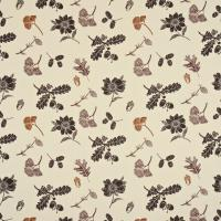 Sweet Chestnut Fabric - Black/Cream