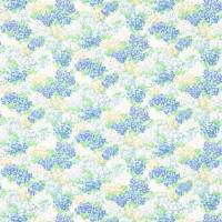 Cottage Garden Fabric - Sky/Periwinkle
