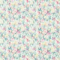 Salad Days Fabric - Porcelain/Pink