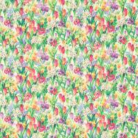 Salad Days Fabric - Emerald/Multi