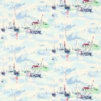 Sail Away Fabric - Sky Blue