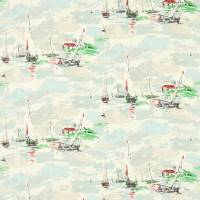 Sail Away Fabric - Sea Green