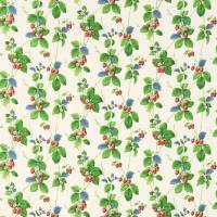 Summer Strawberries Fabric - Strawberry/Leaf