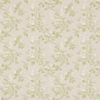 Sorilla Damask Fabric - Apple/Linen