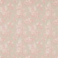 Sorilla Damask Fabric - Shell Pink/Linen