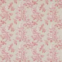 Sorilla Damask Fabric - Rose/Linen