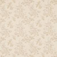 Sorilla Damask Fabric - Linen/Calico
