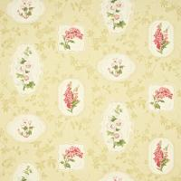 Limoge Fabric - Biscuit/Red