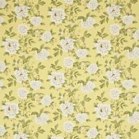 Peony Tree Fabric - Citrus/Purple