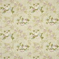 Willoughby Fabric - Linen/Lilac