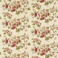 Eglantine Fabric - Rose/Moss