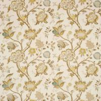 Roslyn Fabric - Neutral/Gold