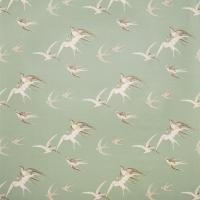 Swallows Fabric - Pebble