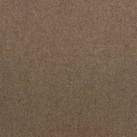 Byron Wool Plains Fabric - Coffee