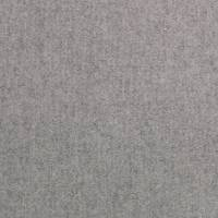 Byron Wool Plains Fabric - Grey