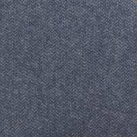 Byron Wool Plains Fabric - Grey Blue
