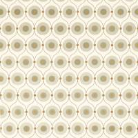Starla Fabric - Pewter/Gold