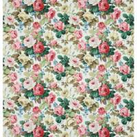 Chelsea Fabric - White/Pink