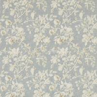 Magnolia & Pomegranate Fabric - Grey Blue/Parchment