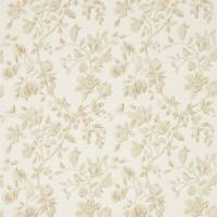 Magnolia & Pomegranate Fabric - Parchment/Milk