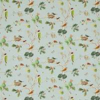 Woodland Chorus Fabric - Sky Blue/Multi