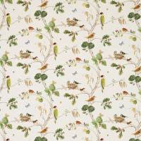 Woodland Chorus Fabric - Linen/Multi