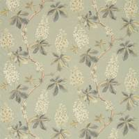 Chestnut Tree Fabric - Grey Blue/Sage