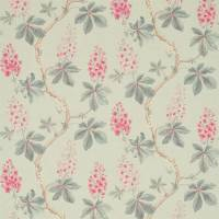 Chestnut Tree Fabric - Seaspray/Peony