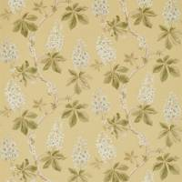 Chestnut Tree Fabric - Lemon/Lettuce