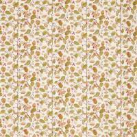 Woodland Berries Fabric - Rosehip/Moss