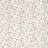 Woodland Berries Fabric - Grey/Silver