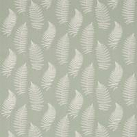 Fern Embroidery Fabric - Mist