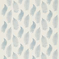 Fern Embroidery Fabric - Powder Blue