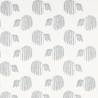Bay Willow Fabric - Blue Clay