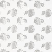 Bay Willow Fabric - Silver