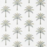 Palm Grove Fabric - Teal/Green