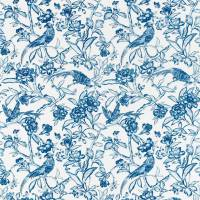 Tattershall Fabric - Indigo