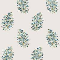 Wendell Embroidery Fabric - Ceramic Blue