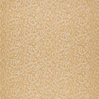 Trailing Sycamore Weave Fabric - Ochre