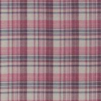 Bryndle Check Fabric - Mulberry/Fig
