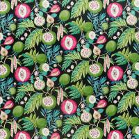 Jackfruit Fabric - Tropical / Ink