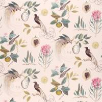 Paradesia Fabric - Orchid / Grey
