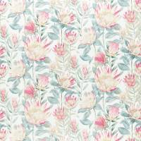 King Protea Fabric - Orchid / Grey