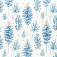 Fernery Fabric - China Blue