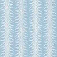 Tree Fern Weave Fabric - Crusoe Blue