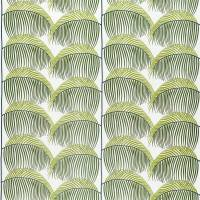 Manila Embroidery Fabric - Lime