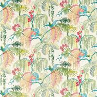Rain Forest Embroidery Fabric - Tropical