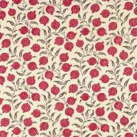 Anaar Fabric - Tyrian Cherry