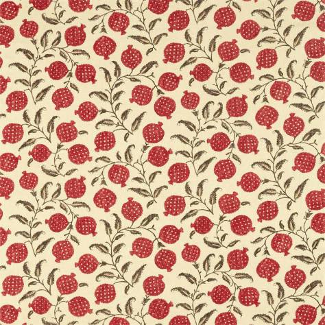 Sanderson Caspian Prints and Embroideries Anaar Fabric - Madder - 226627