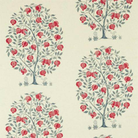 Sanderson Caspian Prints and Embroideries Anaar Tree Fabric - Blueberry - 226629